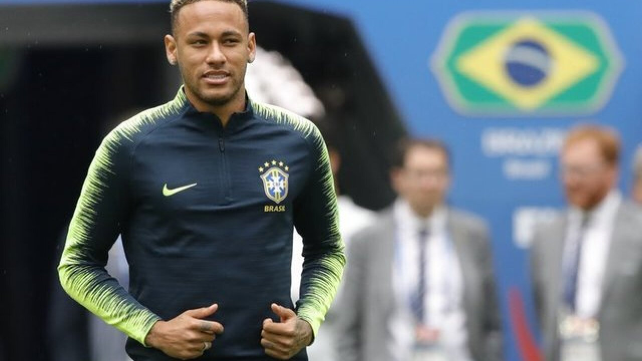 Neymar to start in unchanged Brazil team to face Costa Rica