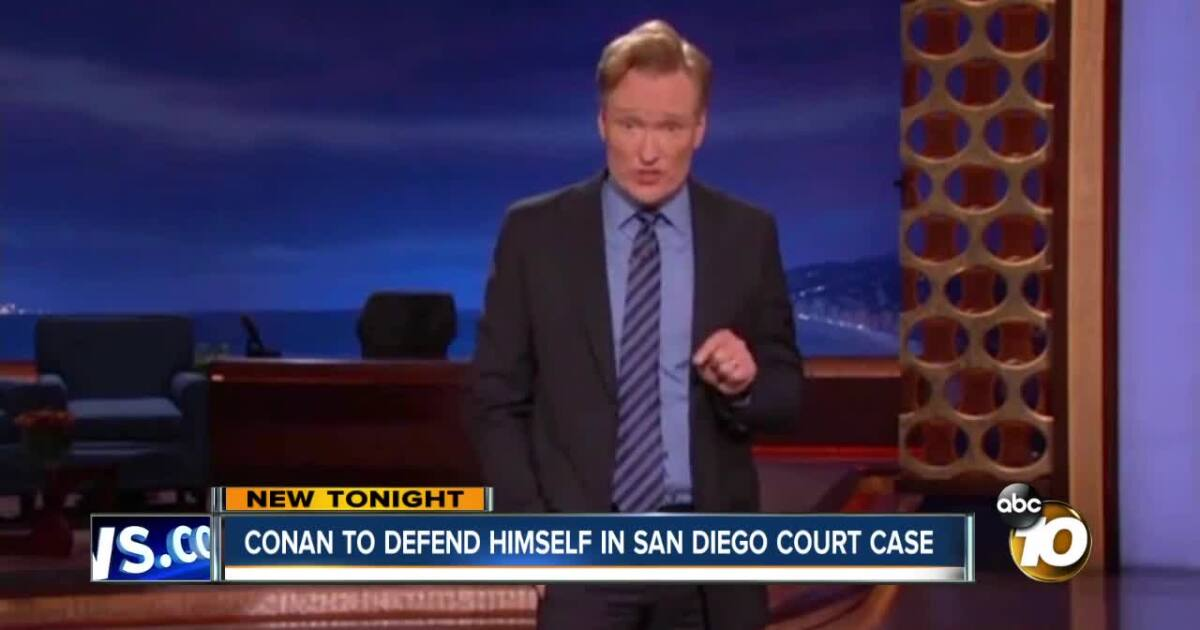 Conan to defend himself against SD writer in joke theft case