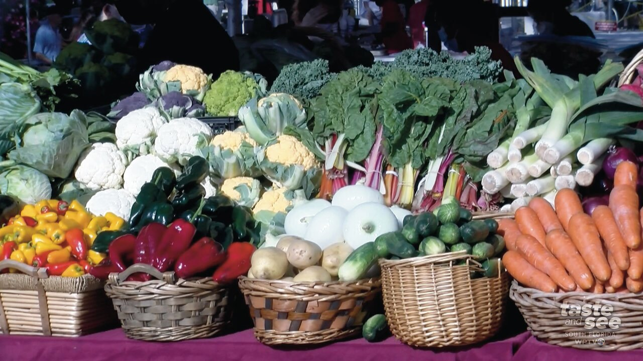 The West Palm Beach GreenMarket has been selected as one of the top 20 in the country. WPTV's Entertainment Reporter T.A. Walker is in downtown West Palm Beach with how you can help secure West Palm's place at the top of the list.