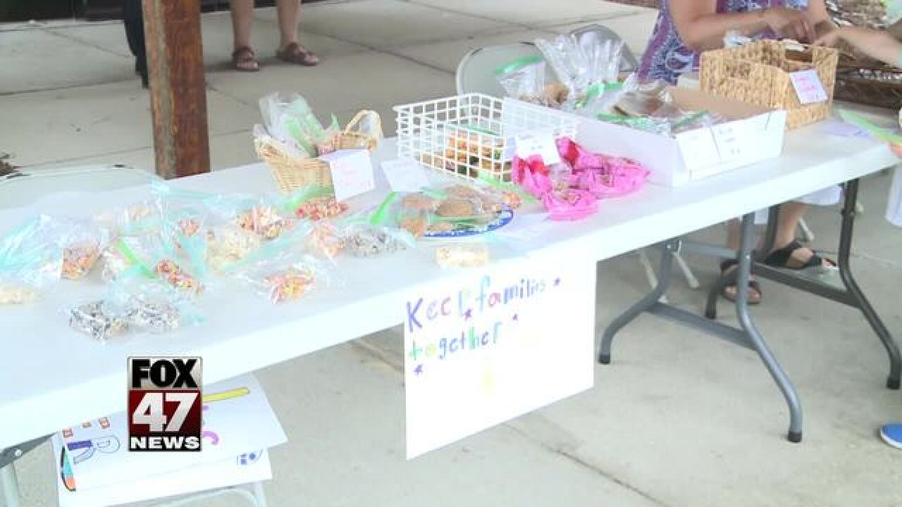 9-year-old holds bake sale, raises money for...