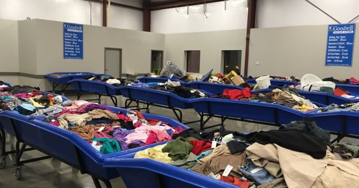New Goodwill Outlet Store in Woodlawn sells clothes, toys
