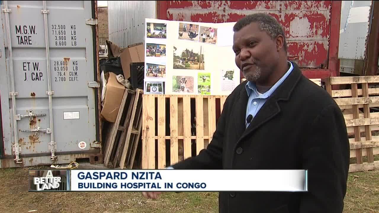 Gaspard Nzita builds hospital in Congo