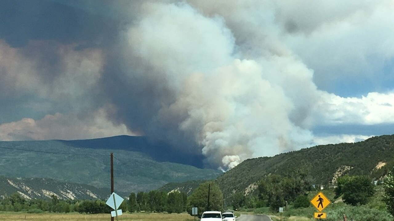Spring Fire grows to more than 94,000 acres