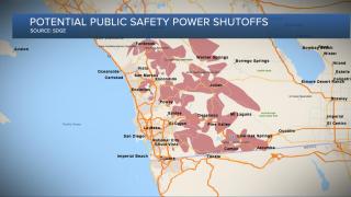 Potential public safety power shutoffs
