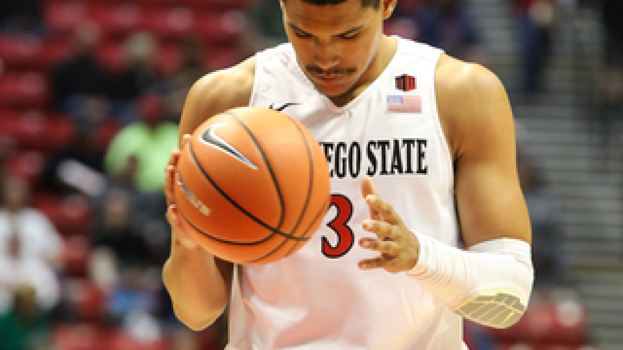 Wooden Legacy final: SDSU stumbles in 93-86 loss to Washington State