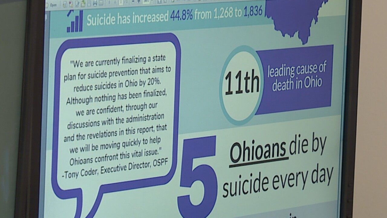 Ohio suicide deaths up 45%, Cuyahoga suicides hit 34 year high