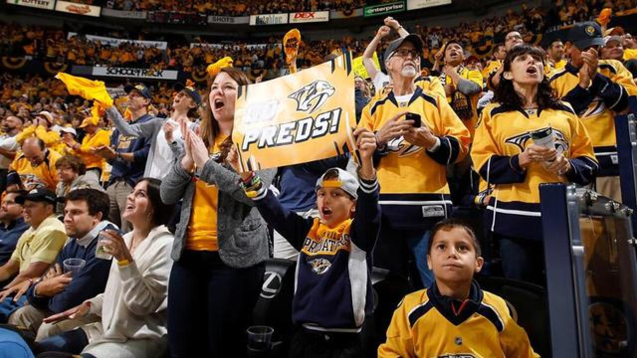 Preds Fans Looking At Price Increase For Season Tickets