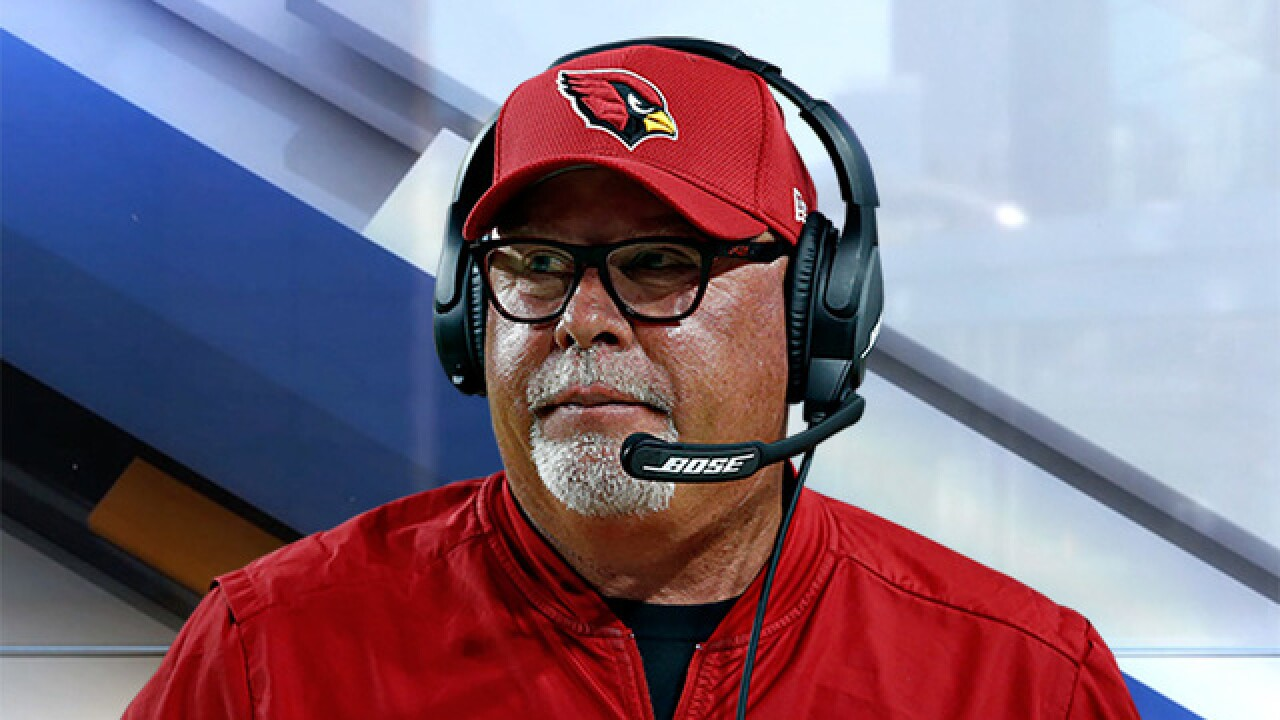 Two-time NFL coach Bruce Arians says Cleveland is only place that could take him out of retirement
