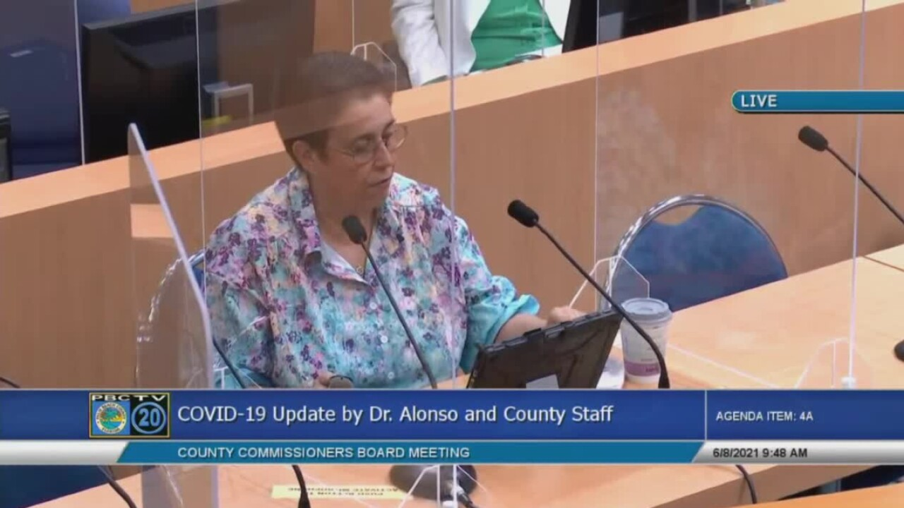 Palm Beach County health director Dr. Alina Alonso gives a COVID-19 update on June 8, 2021.jpg