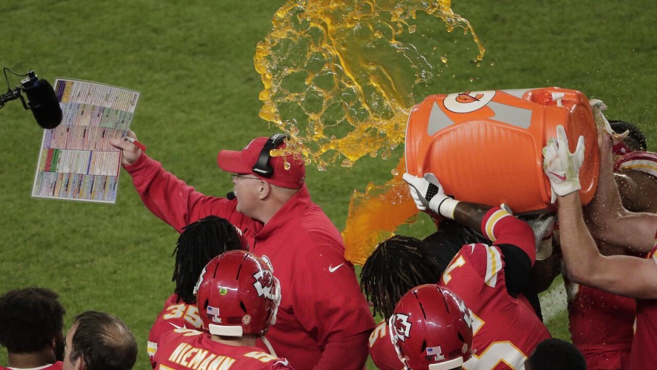 APTOPIX 49ers Chiefs Super Bowl Football