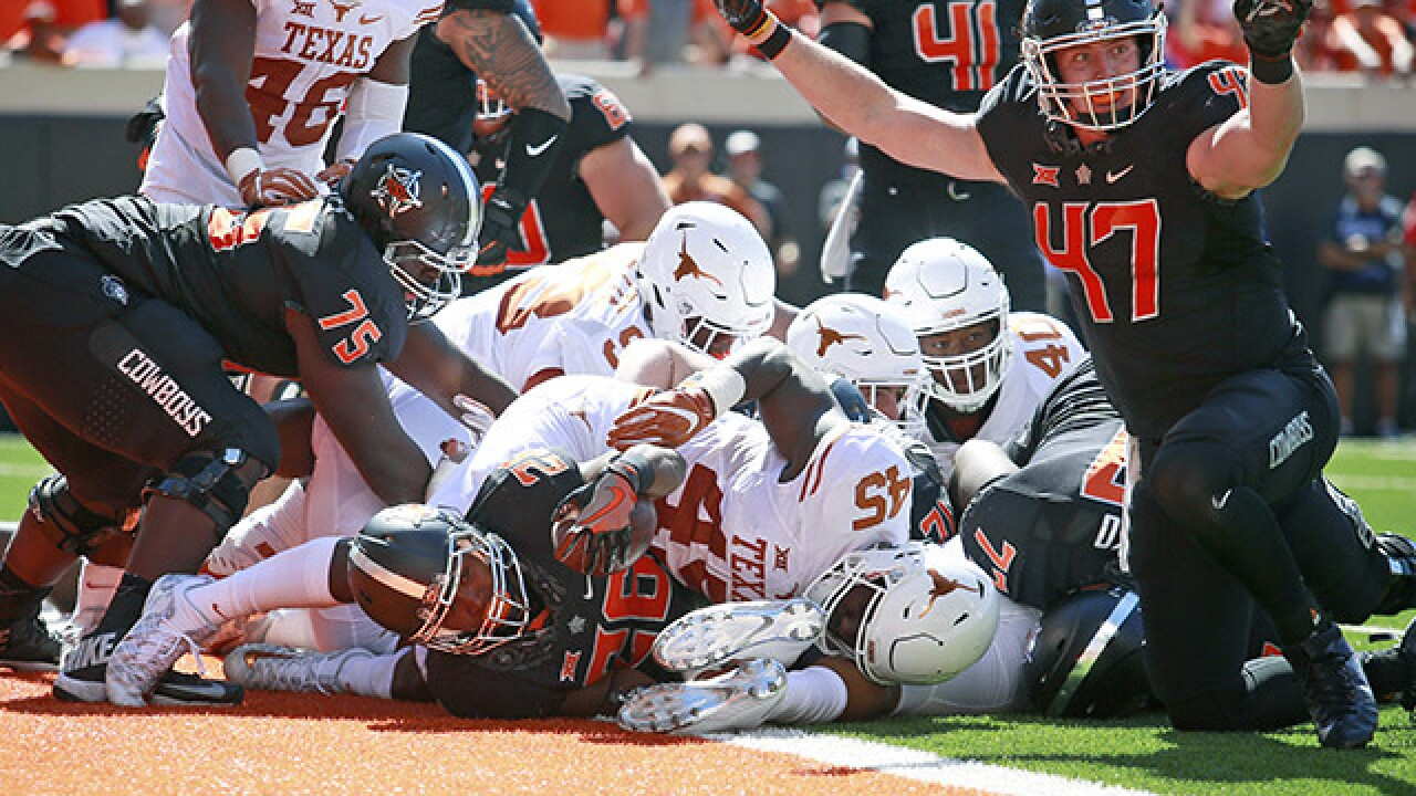 PHOTOS: OSU Cowboys beat Texas Longhorns 49-31
