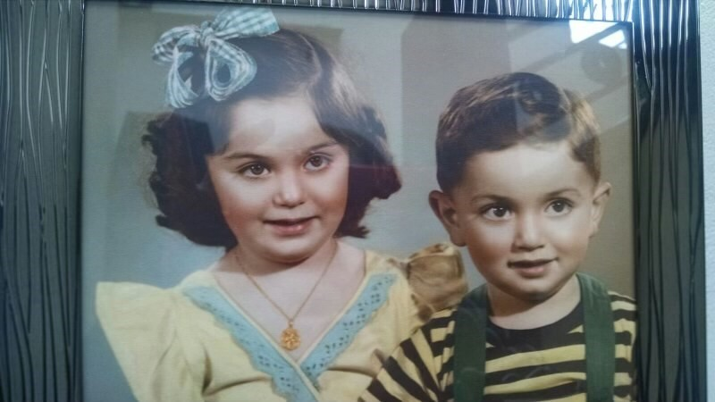 Bea Hanson and her brother