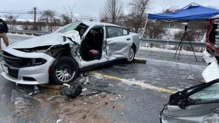 multi-vehicle crash involving FCSO deputy