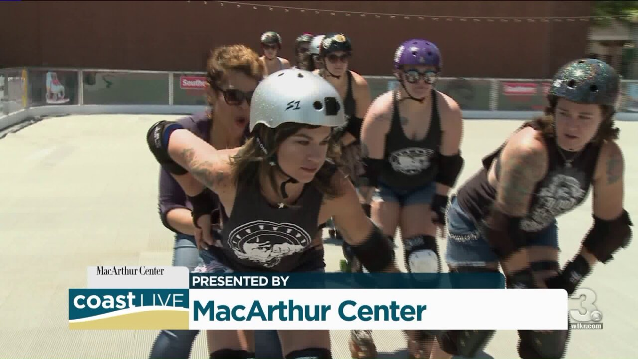 April gets things rolling at the MacArthur rink on CoastLive