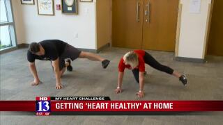 Here are some heart healthy exercises you can do athome