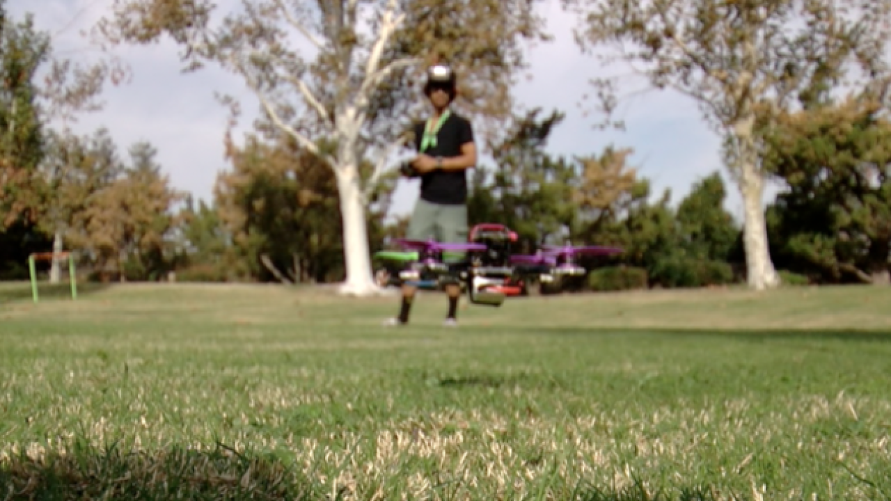 Local Bakersfield club custom builds drones to race in new sport