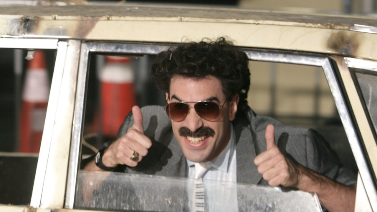 Kazakhstan makes Borat catchphrase 'Very nice!' official tourism slogan