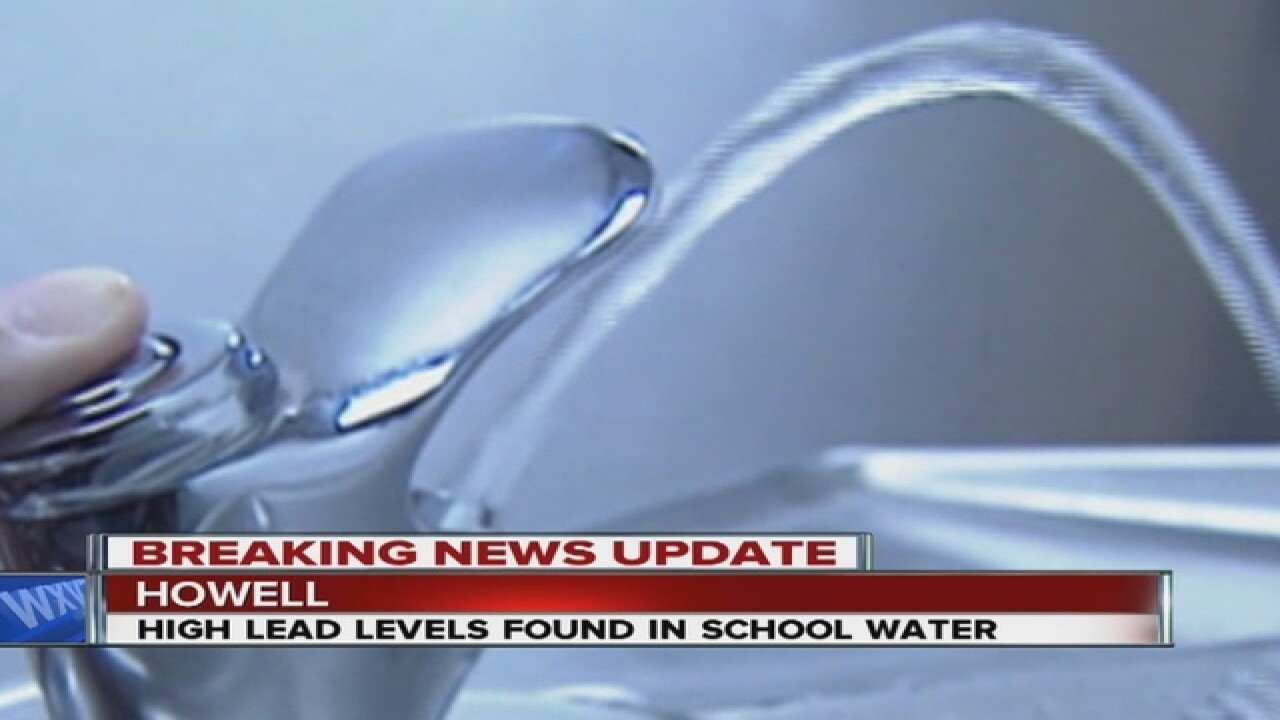 Elevated lead levels found at Howell school