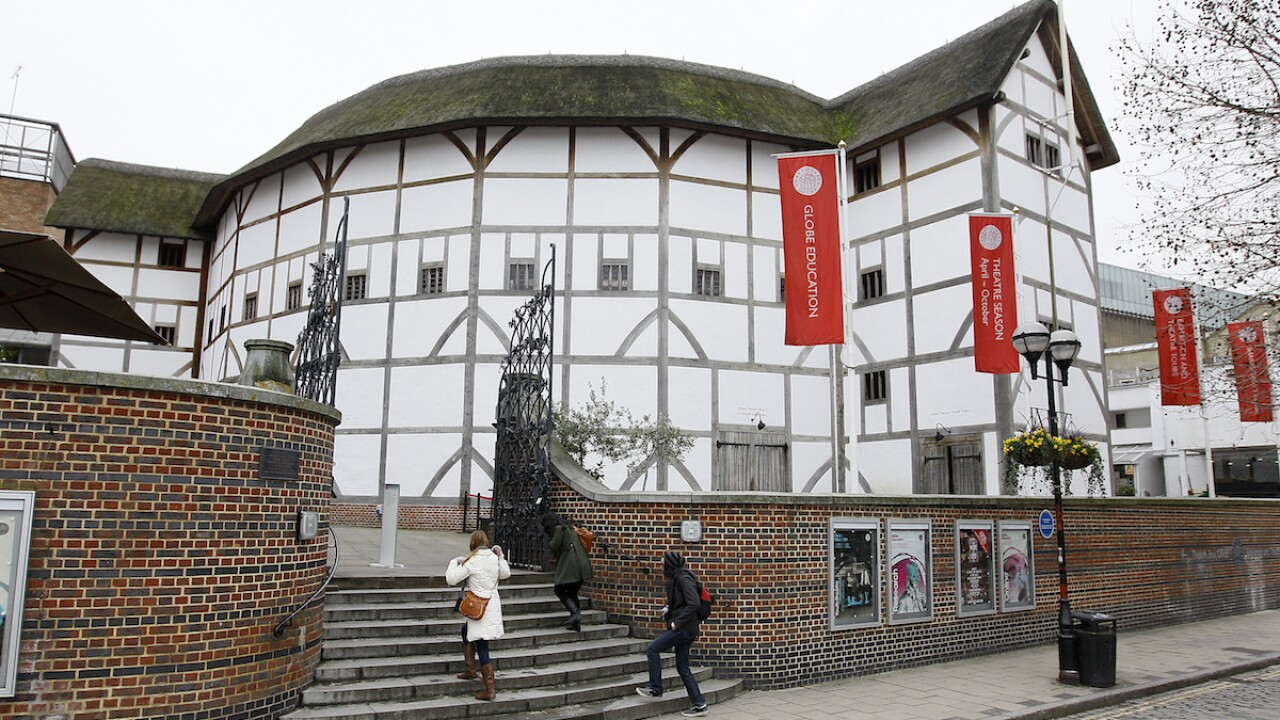 World-renowned theatre Shakespeare's Globe seeking donations to help keep its doors open