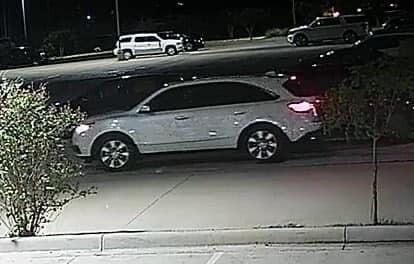 Belton hit-and-run suspect's vehicle
