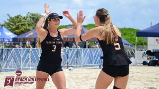 Beach Volleyball Earns No. 3 Seed for the NCAA Beach Volleyball Championship