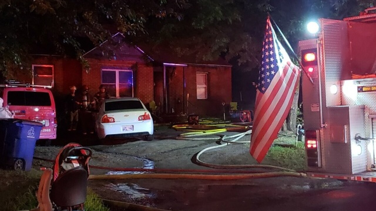 Tulsa family escapes house fire