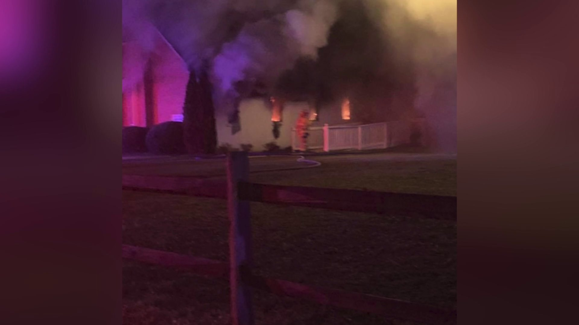 Photos: Hopewell church fire ruled arson; blaze started in sanctuary, pastor says