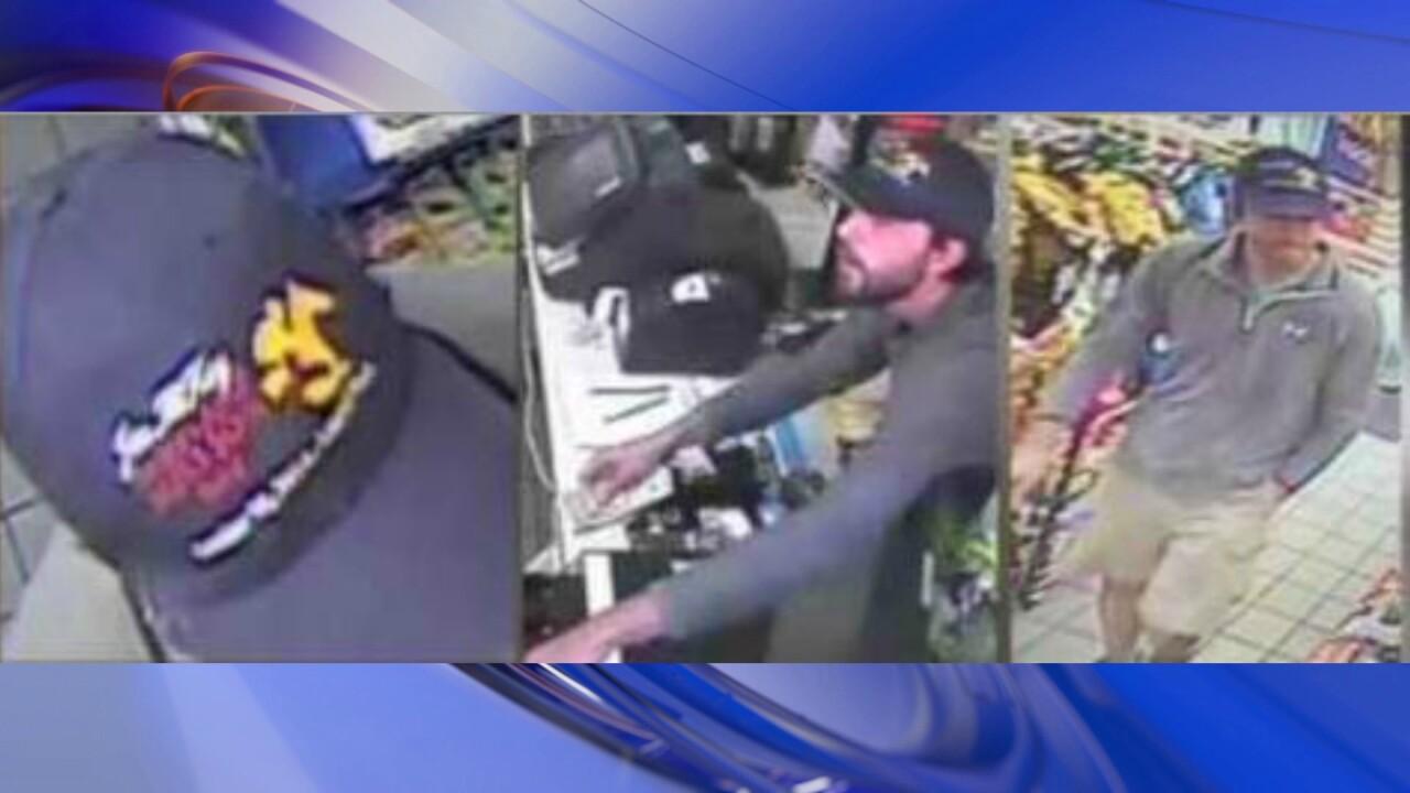 Gunman wears distinctive baseball cap during month-long crimespree