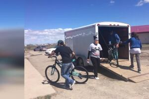 Essential Eats bike program provided for those in remote areas