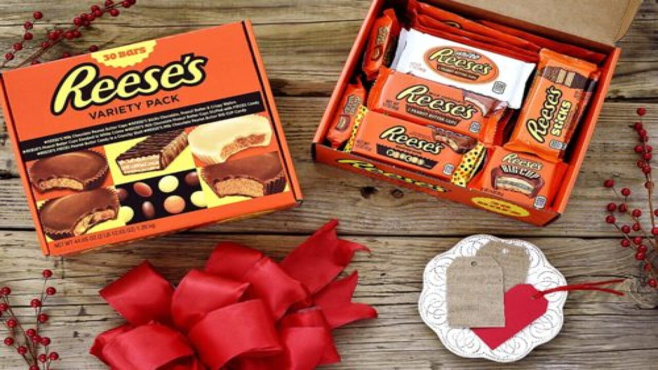 Buy A Giant Reese's Box Filled With 30 Different Candies