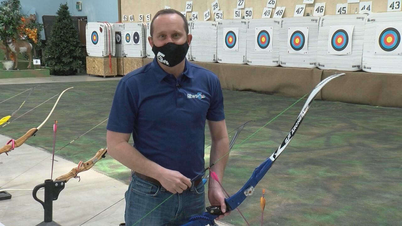 Alan Rose archery lesson