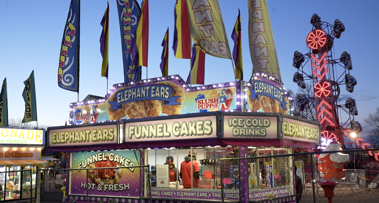 Funnel cakes and 'the Zipper'