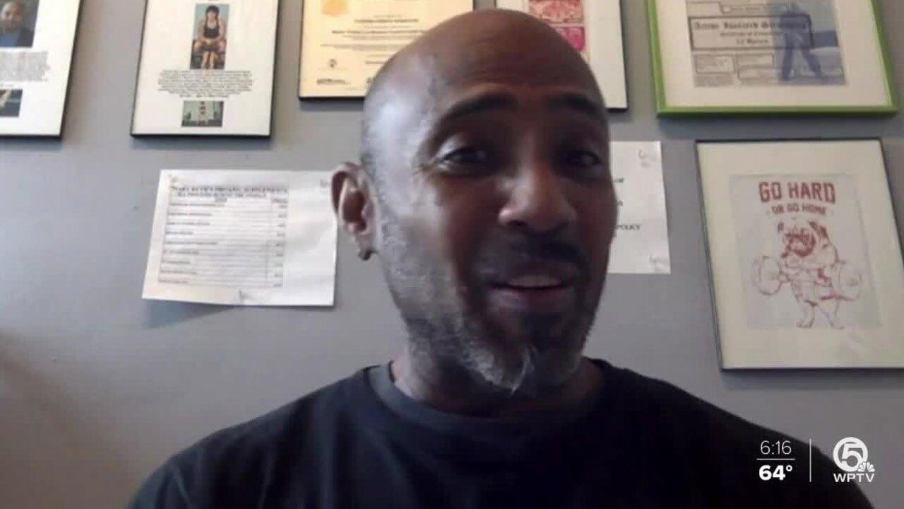 Julian Gibson-Serrette, SuperFit gym co-owner
