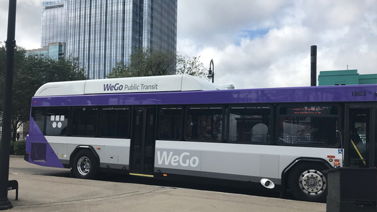 WeGo buses to use GPS technology to cut down on noise and pollution