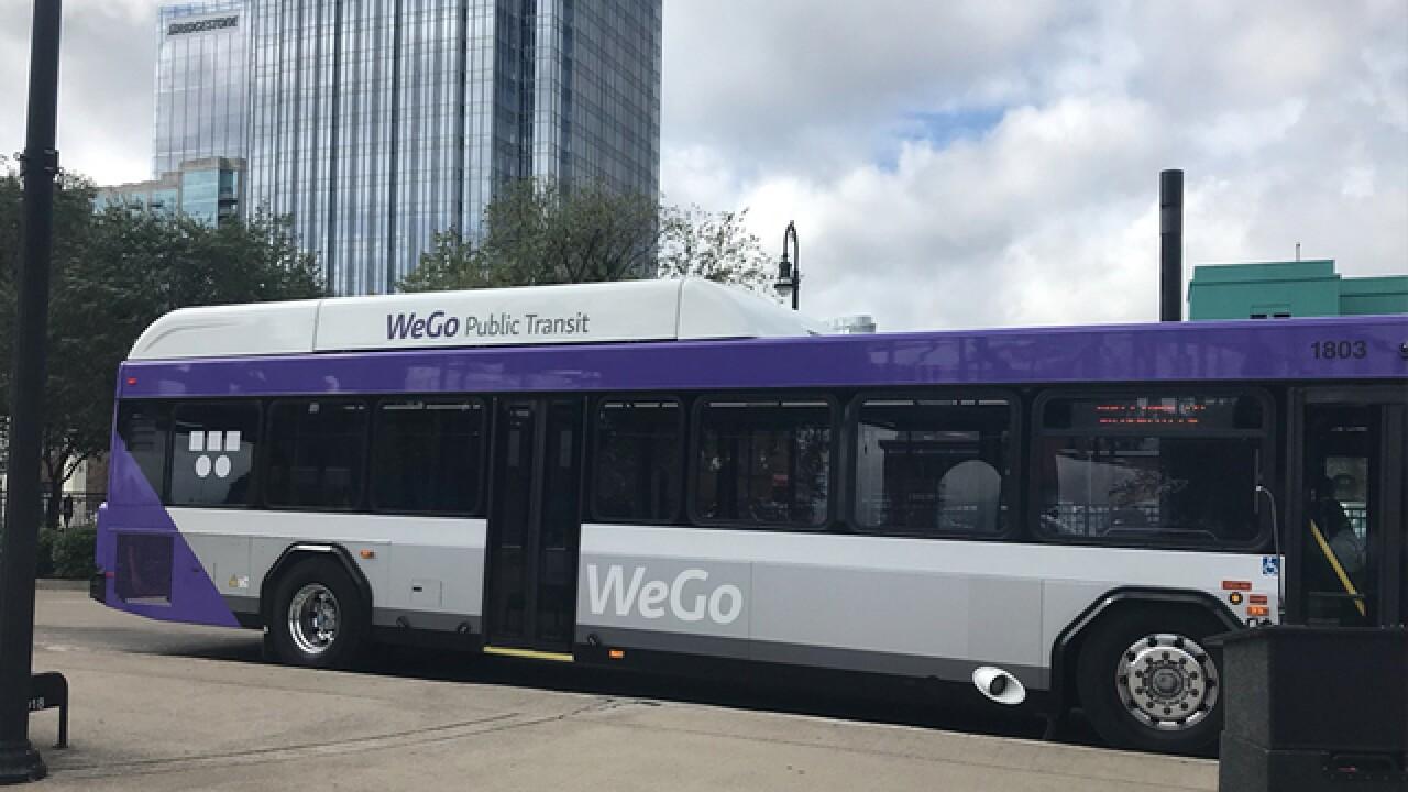 Feds Grant $9M Toward WeGo Buses