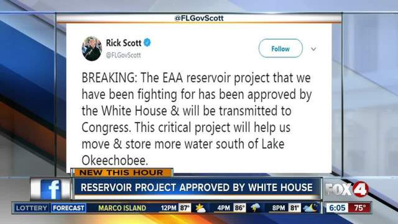 White House approves Lake 'O' reservoir project