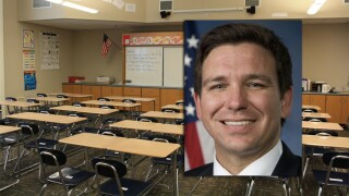 Gov. Ron DeSantis wants to raise minimum salary for teachers in Florida to $47,500