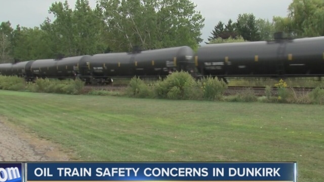 "Oil Trains: ""Ticking time bombs,"" says Schumer"