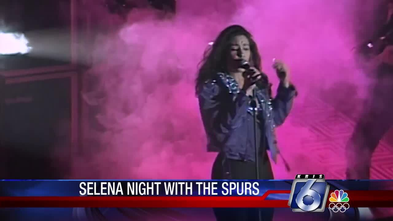 """San Antonio Spurs will sponsor """"Selena Night"""""""