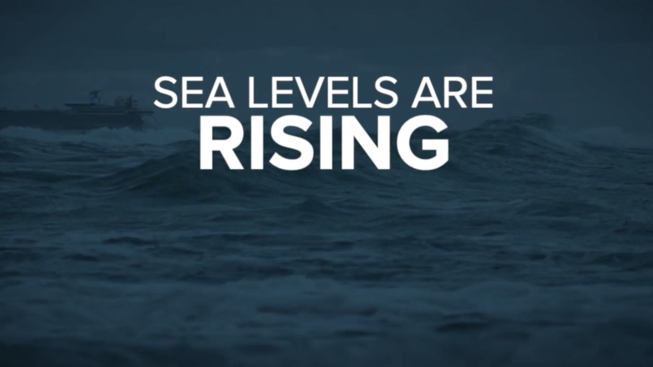 sea levels rising