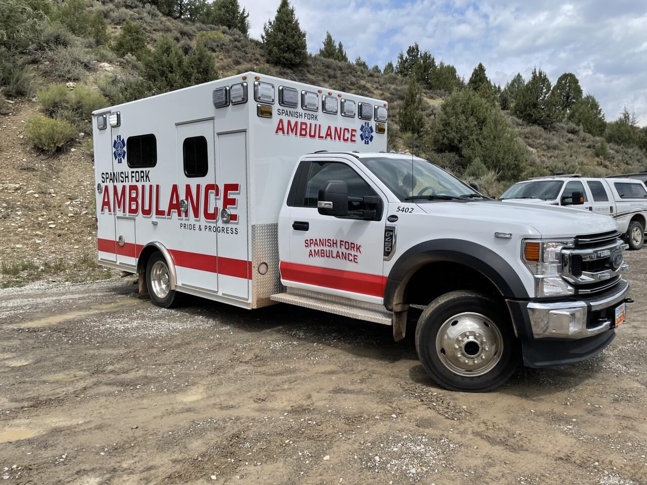 Wadsworth Peak Crash Ambulance