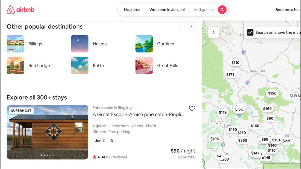 Airbnb Montana