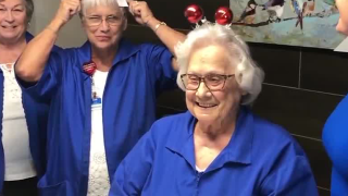 Hospital angel: 91-year-old volunteer logs more than 50,000 hours at AdventHealth Wauchula