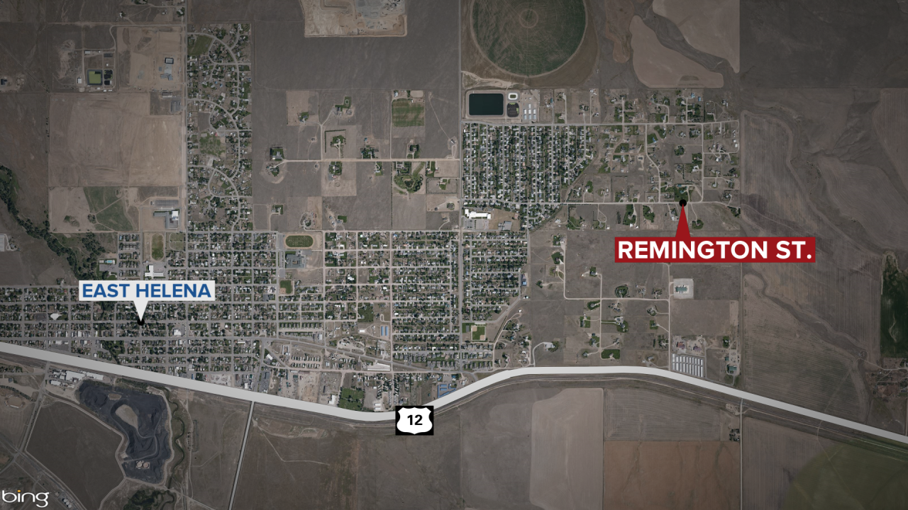 Driver dies in crash near East Helena