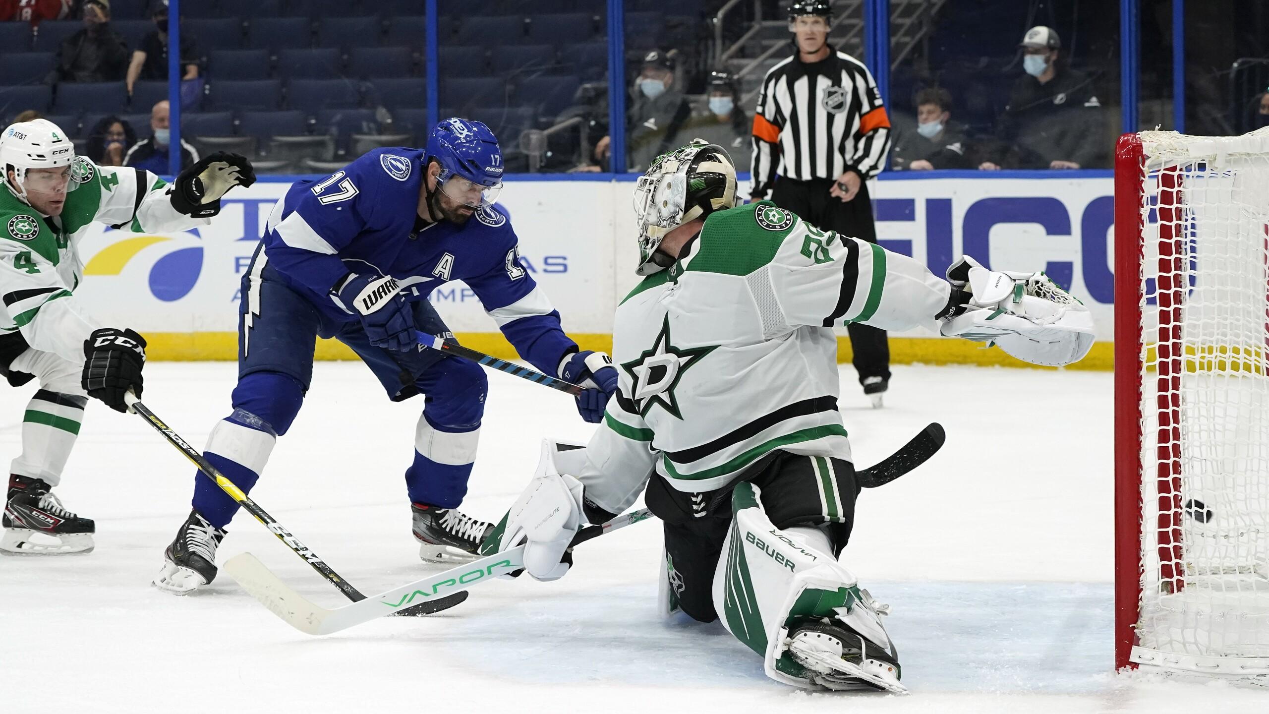 Stars Lightning Hockey