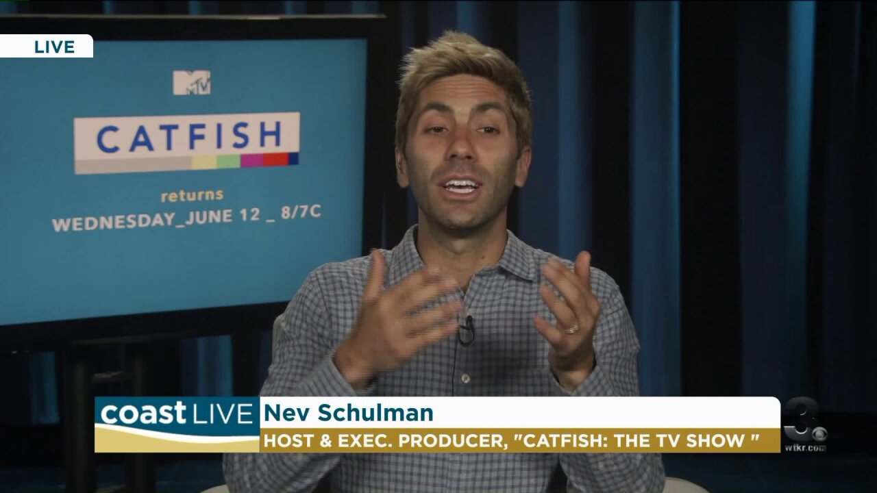 "A show that explores the online trend of ""Catfishing"" on Coast Live"