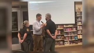 Josh Mandel at Lakota schools board meeting