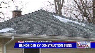 Local homeowners blindsided by constructionliens