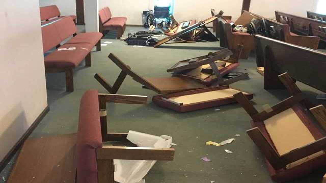 Vandals cause $75,000 in damage to KCK church