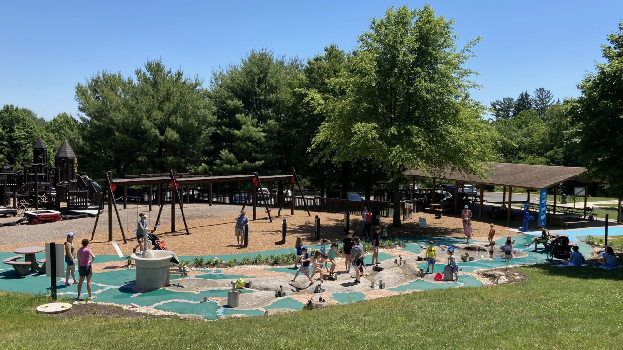 Now Open Chesapeake Sensory Plaza In Bel Air S Rockfield Park
